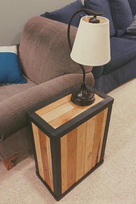 Beautiful multi-functional pallet side tables | Creative DIY Pallet Furniture Ideas 2019