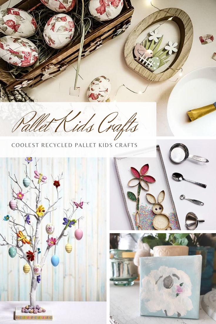 Coolest Recycled Pallet Kids Crafts