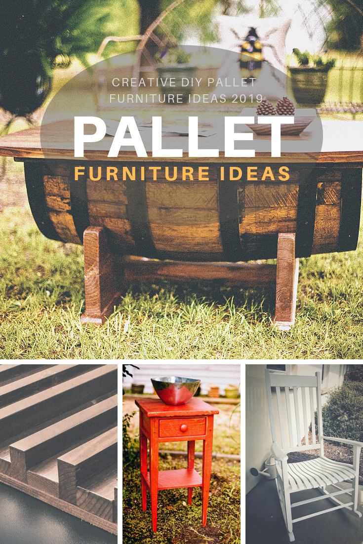 Creative DIY Pallet Furniture Ideas 2019