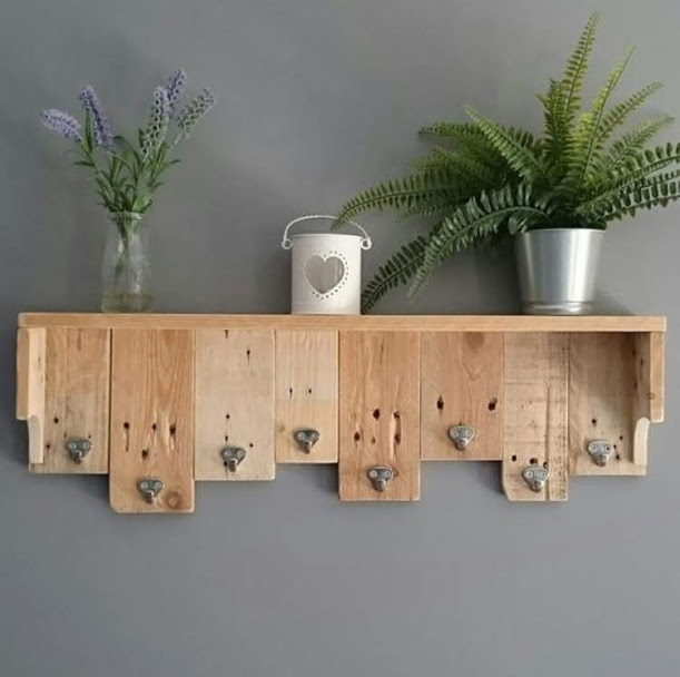 Beautiful pallet decor