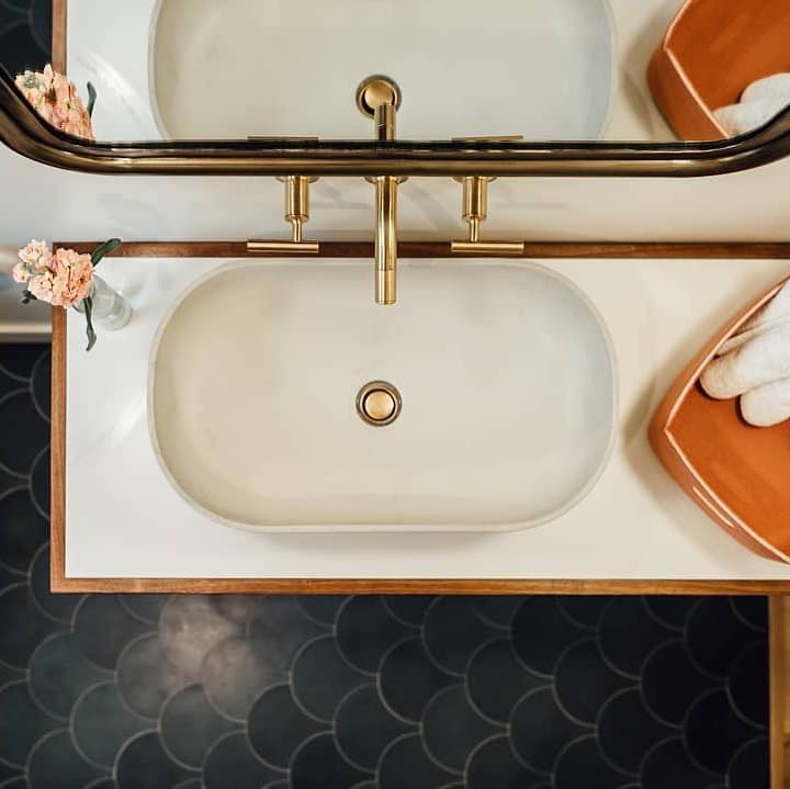 Gold Bathroom Remodel Ideas