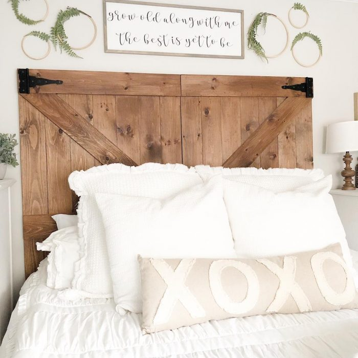 Wooden Headboards | DIY Headboard Ideas
