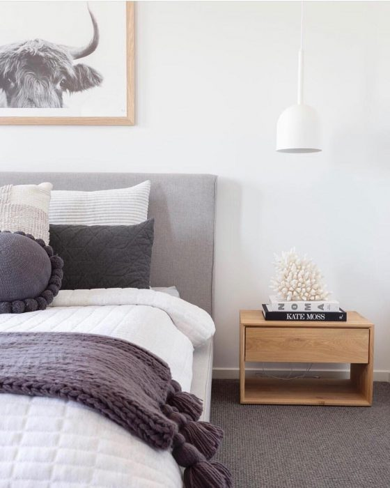 Clean, simple | Bedroom Decor Ideas
