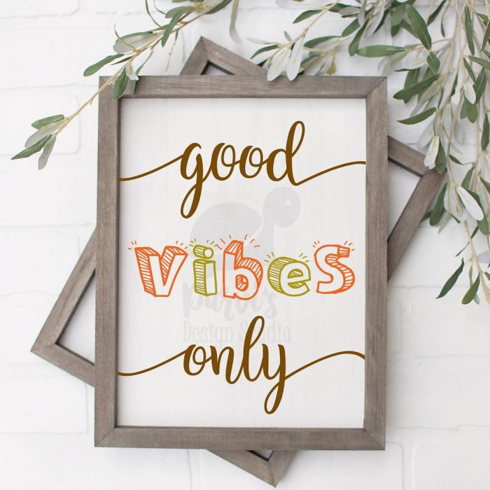 Good Vibes Only Printable | Wall Decor Ideas