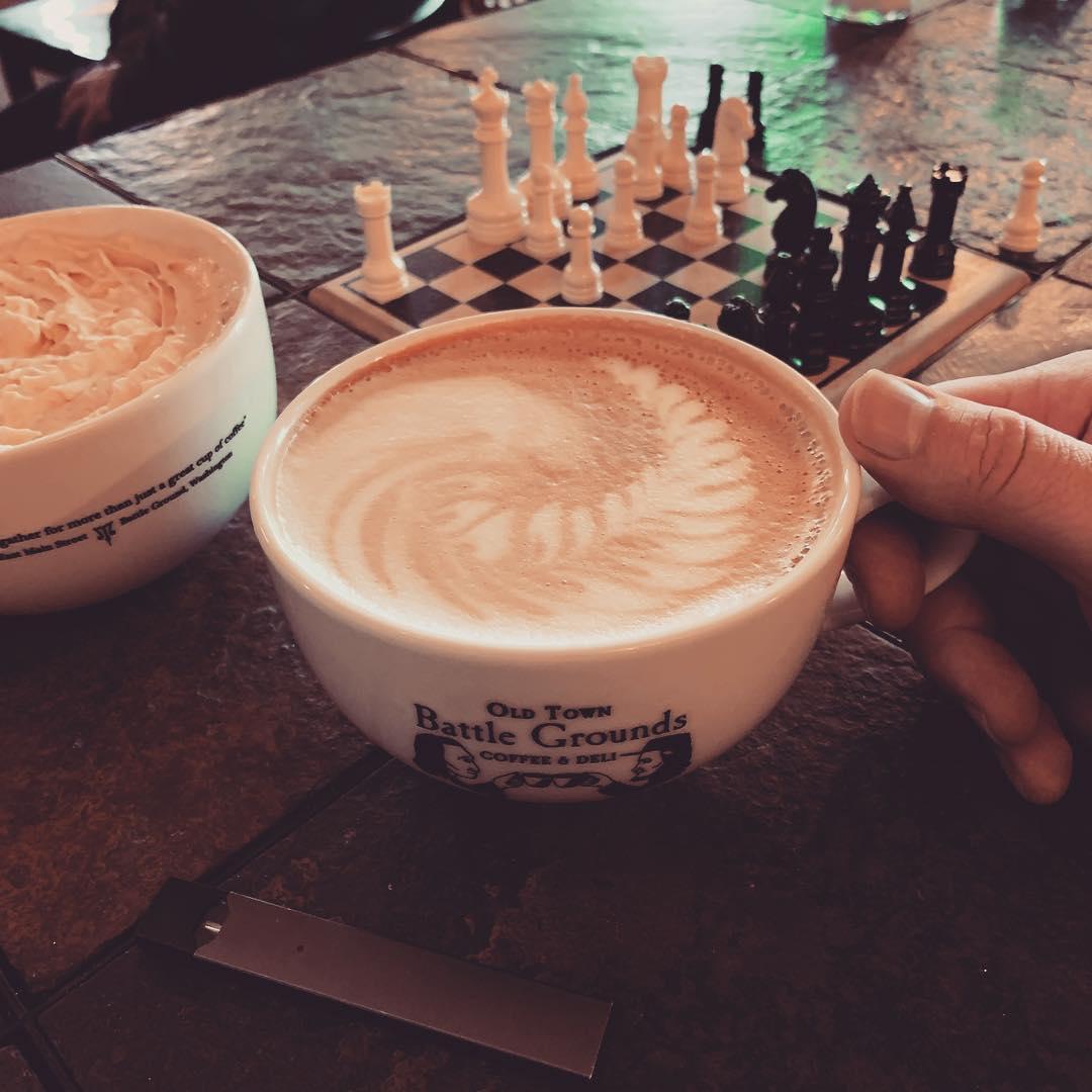 White mocha Coconut Latte Creative Date Ideas