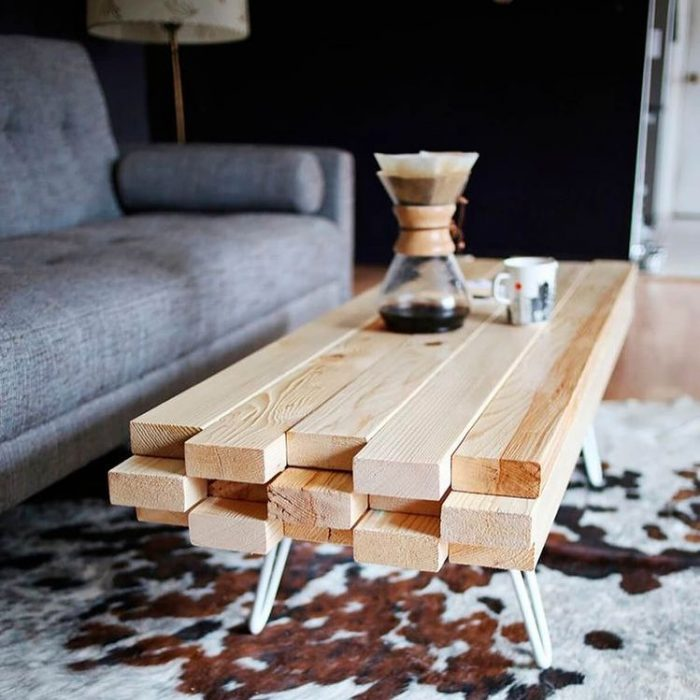 Beautiful DIY Coffee Tables | DIY Coffee Table Ideas