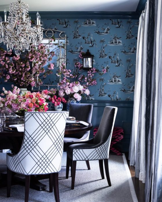 Dining room wallpaper | Wall Decor Ideas