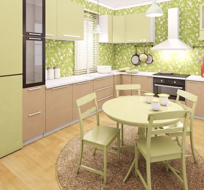 Colorful Kitchen Interior | Kitchen Decor Ideas