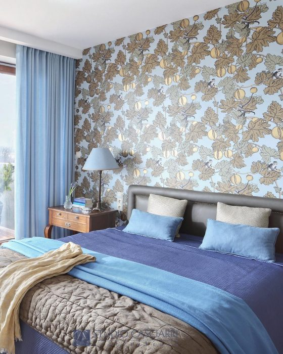 Fabrics and wallpaper | Bedroom Decor Ideas
