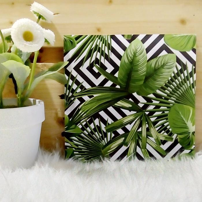 Monstera wall decor | Wall Decor Ideas