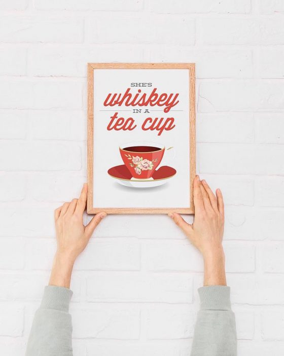 Here's to all strong women | Wall Decor Ideas