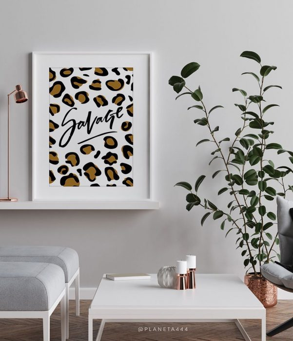 Ready to get wild prints | Wall Decor Ideas