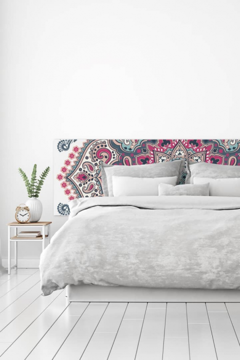 mandalas and zen motifs Mind Blowing Dreamy DIY Headboard Ideas