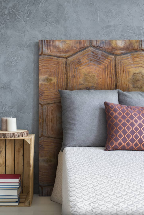 headboards printed with unique and original designs Mind Blowing Dreamy DIY Headboard Ideas
