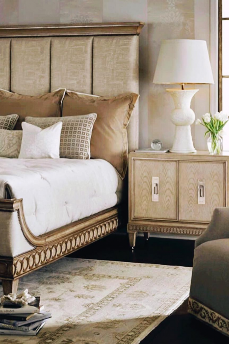 perfect sanctuary with Marge Carson Mind Blowing Dreamy DIY Headboard Ideas