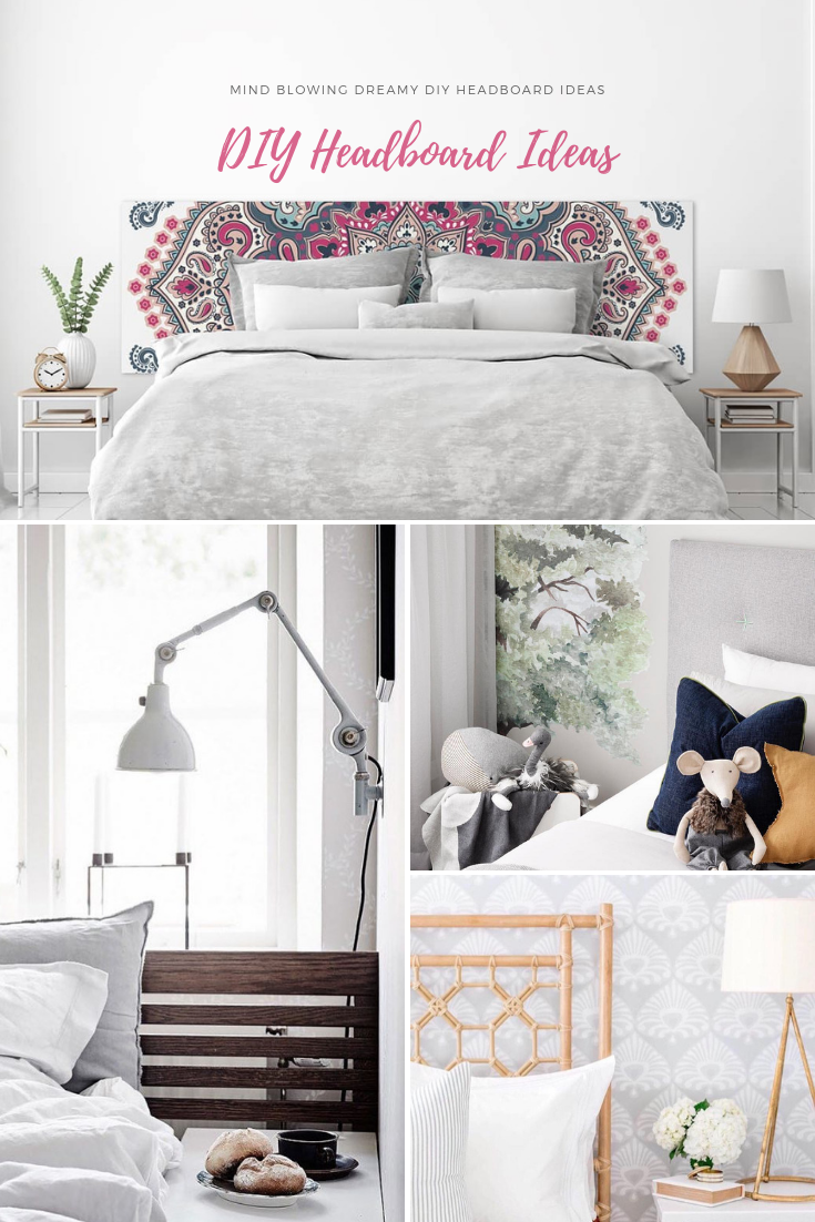 Mind Blowing Dreamy DIY Headboard Ideas